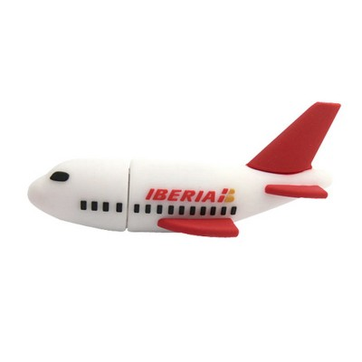 Airplane shape PVC Pendrive CSPVC26