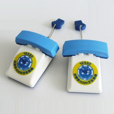 Telephone shape PVC Pendrive CSPVC31