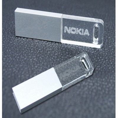 Customized Crystal USB CSC401 4GB, 8GB, 16GB, 32GB, 64GB