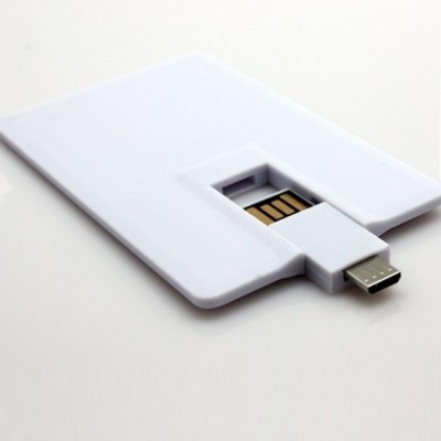 Credit Card Shape OTG Pendrive CSO001 8GB, 16GB, 32GB, 64GB