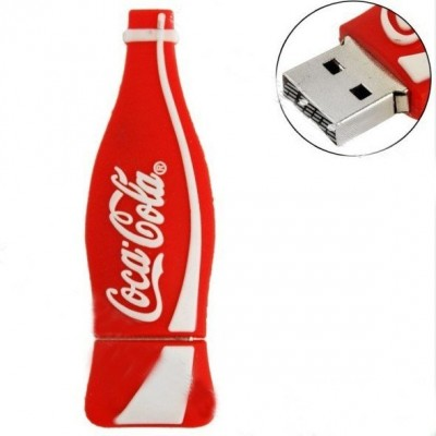 Coca Cola bottle shape PVC Pendrive CSPVC10