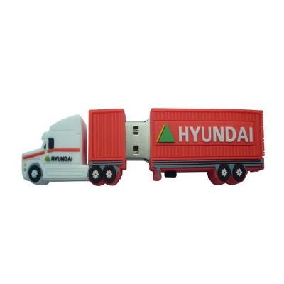 Truck shape PVC Pendrive CSPVC35