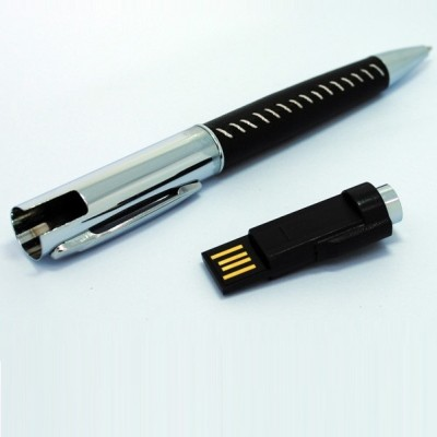 Leather Pen with USB CSP802 4GB, 8GB, 16GB, 32GB, 64GB