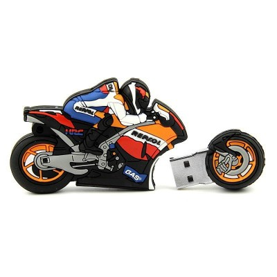 Bike Shape PVC Pendrive CSPVC6