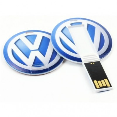 Round Card shape Pendrive CS003 4GB, 8GB, 16GB, 32GB, 64GB