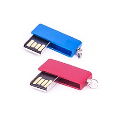Mini Swivel Metal USB Pen Drive CSM212