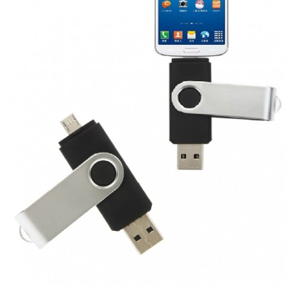 Swivel OTG USB Pen Drive CSO010 4GB, 8GB, 16GB, 32GB, 64GB