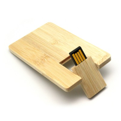 Wooden Card USB Pen Drive CSW705