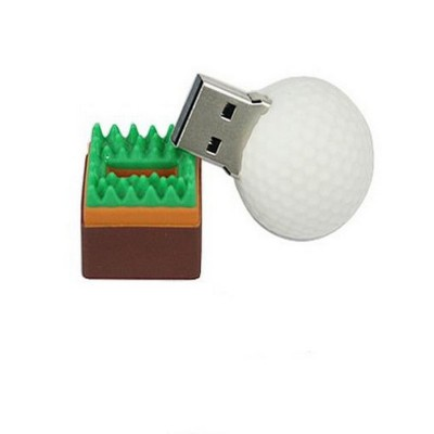 Golf ball shape PVC Pendrive CSPVC13
