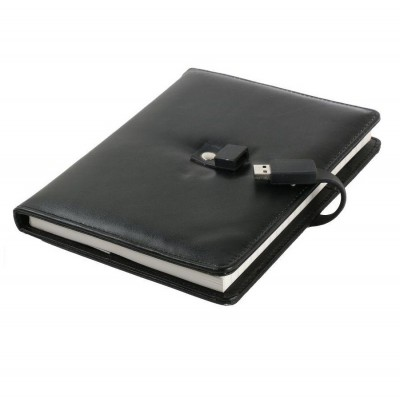 Diary / Notebook with USB CSD901 4GB, 8GB, 16GB, 32GB, 64GB