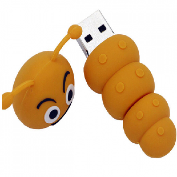 OTG PVC Pendrive Caterpillar shape CSPVC37